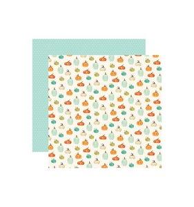 """Papel 12x12"""" Fall Market Pumpkin Patch"""