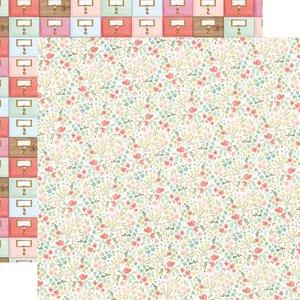 """Papel 12""""x12"""" Farmhouse Market Antique Floral"""
