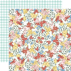 "Papel 12""x12"" Oh Happy Day Tiny Floral"