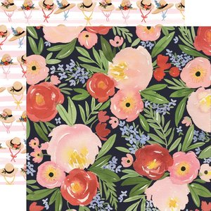 "Papel 12""x12"" Oh Happy Day Dreamy Floral"