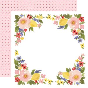"Papel 12""x12"" Oh Happy Day Bloom Border"