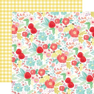 "Papel 12x12"" Summer Market Summer Day Floral"