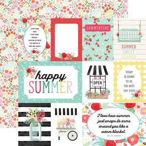 "Papel 12x12"" Summer Market Journaling Cards"
