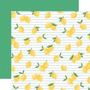 "Papel 12x12"" Summer Market Lovely Lemons"