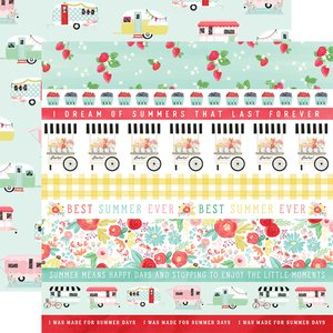 "Papel 12x12"" Summer Market Border Strips"