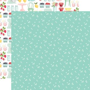 "Papel 12x12"" Summer Market Tiny Flowers"