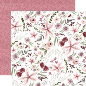 "Papel 12x12"" Flora n3 Elegant Large Floral"