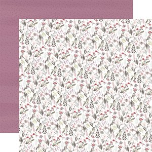 "Papel 12x12"" Flora n3 Elegant Small Floral"