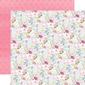 "Papel 12x12"" Flora n3 Bright Small Floral"