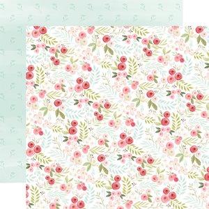 """Papel 12x12"""" Flora n3 Subtle Small Floral"""