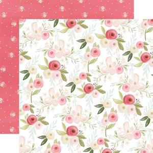 """Papel 12x12"""" Flora n3 Subtle Large Floral"""