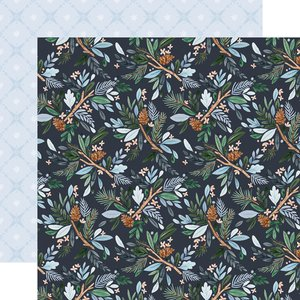 "Papel 12x12"" Winter Market Winter Floral"