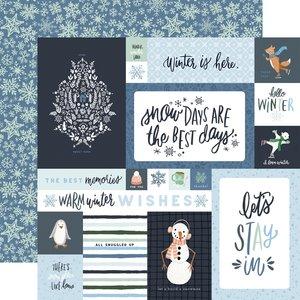 "Papel 12x12"" Winter Market 4x6 Journaling Cards"