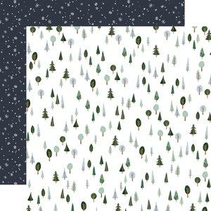 "Papel 12x12"" Winter Market I love Winter"