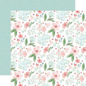 """Papel 12x12"""" Carta Bella Flower Garden Lovely Floral"""