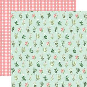 """Papel 12x12"""" Carta Bella Flower Garden Beautiful Day Floral"""