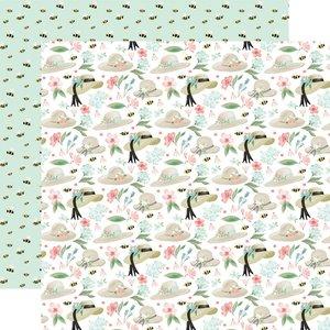 """Papel 12x12"""" Carta Bella Flower Garden Garden Hats"""