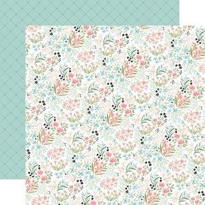 """Papel 12x12"""" Carta Bella Flower Garden Bloom & Grow"""