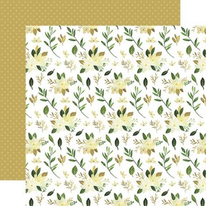 "Papel 12x12"" Carta Bella Flora n4 Natural Stems"