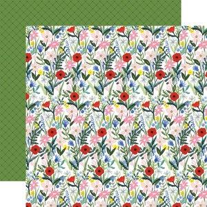 "Papel 12x12"" Carta Bella Flora n4 Bold Stems"