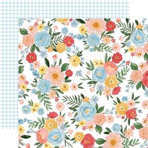 "Papel 12x12"" Carta Bella Summer Day Floral"