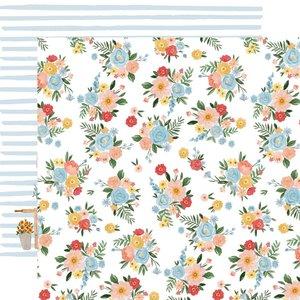 "Papel 12x12"" Carta Bella Summer Floral Bunches"