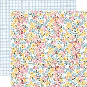"Papel 12x12"" Carta Bella Summer Bloom & Grow"