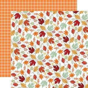 "Papel 12x12"" Carta Bella Welcome Autumn Crisp Leaves"