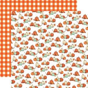 """Papel 12x12"""" Carta Bella Welcome Autumn Pumpkin Patch Picks"""