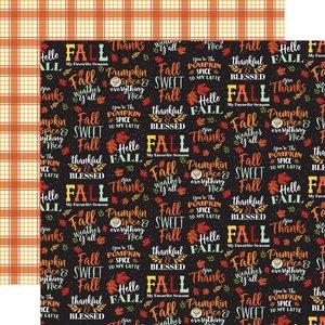"Papel 12x12"" Carta Bella Welcome Autumn Fall Sweet Fall"