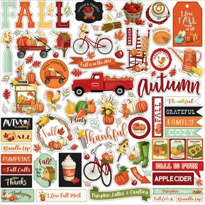 "Pegatinas 12x12"" Carta Bella Welcome Autumn"