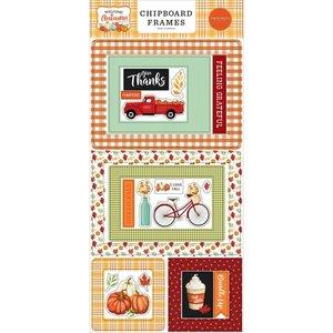 "Chipboard 6x12"" Carta Bella Welcome Autumn Frames"