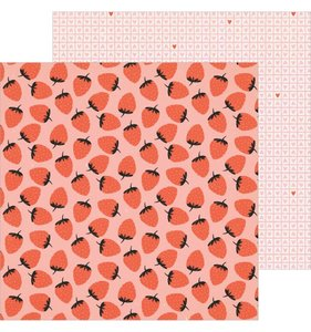 "Papel 12""x12"" LaLaLove Berry Sweet"