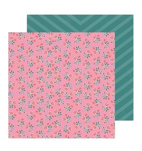 "Papel 12""x12"" All Heart Rose"