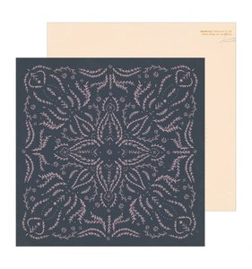 "Papel 12""x12"" Heritage Embroidered"