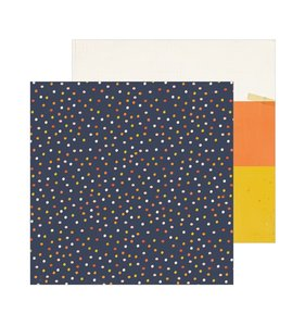 "Papel 12""x12"" Hey Pumpkin Candy Corn"