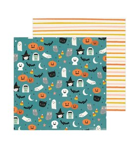 "Papel 12""x12"" Hey Pumpkin Haunted"