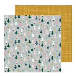 "Papel 12""x12"" Snowflake Spruce"
