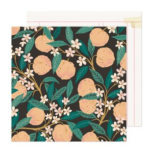 "Papel 12x12"" Marigold Natural Beauty"