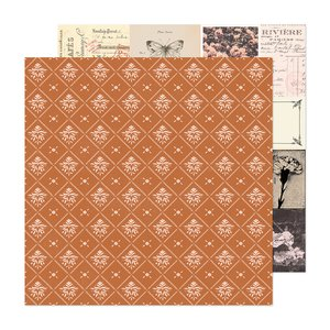 "Papel 12x12"" Marigold Our Story"