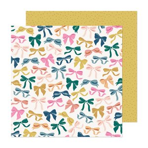 "Papel 12x12"" Marigold Charmed"