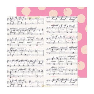 """Papel 12x12"""" Marigold High Note"""