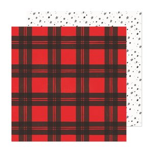 "Papel 12x12"" Hey Santa Holiday Cheer"