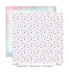 "Papel 12""x12"" Happiness Sprinkles"