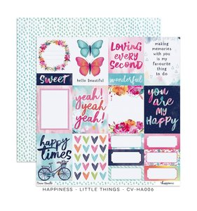 "Papel 12""x12"" Happiness Little Things"