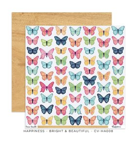 "Papel 12""x12"" Happiness Bright and Beautiful"