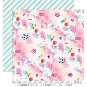 """Papel 12""""x12"""" Unforgettable Sprightly"""