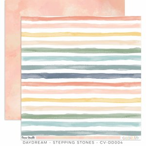 "Papel 12x12"" Cocoa Vanilla Daydream Stepping Stones"