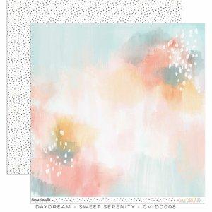 """Papel 12x12"""" Cocoa Vanilla Daydream Sweet Serenity"""