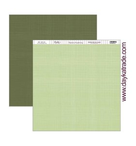 "Papel 12x12"" Texturas verdes"